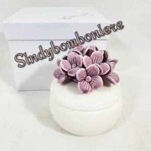 Bomboniere Matrimonio Economiche On Line.Jewelry Box White Porcelain Original Economic Favours Wedding Ebay