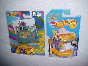 HW-THE-BEATLES-034-DECO-DELIVERY-034-w-REAL-RIDERS-amp-THE-YELLOW-SUBMARINE-VHTF-MATTEL