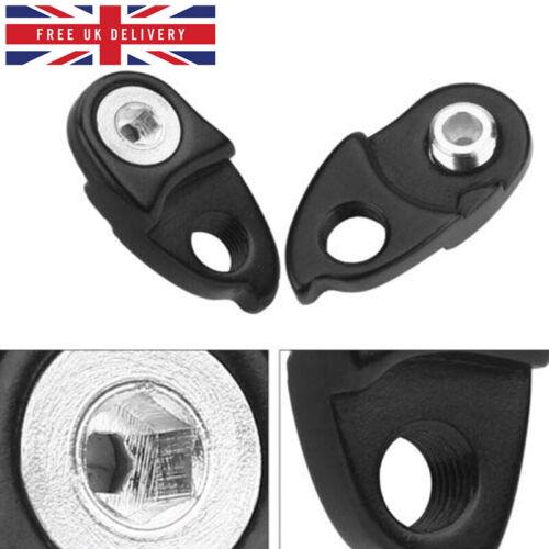 Bike Rear Derailleur Hanger Extension Extender Gear Tail Hook Cassette Adapter