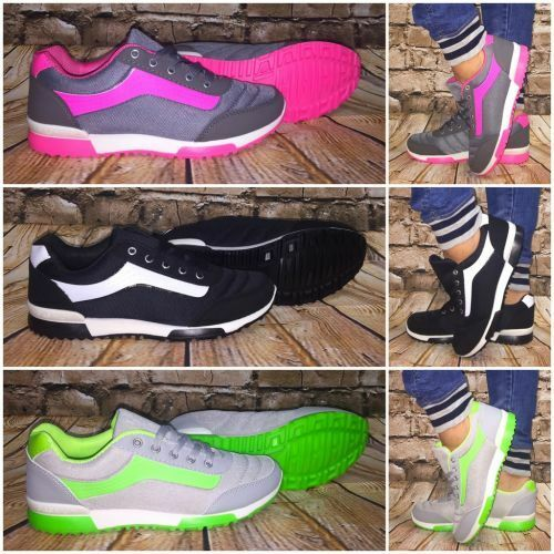 Sneakers 2 Color FASHION Sportschuhe