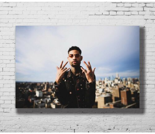 Hot Gift Poster PnB Rock Rap Singer Music 40x27 30x20 36x24 F-2693
