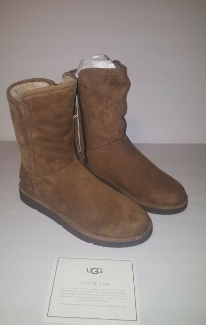 Lined Abree Short Size Suede 8 Shearling 1009250 Boots Luxe Ugg Bruno Womens fg7by6