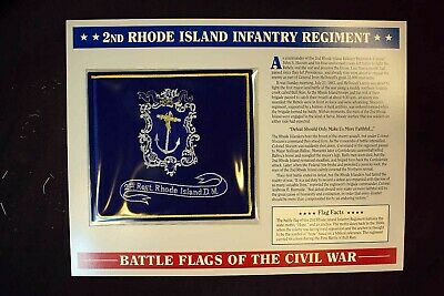 Made in the U.S.A. 3/'x5/' Rhode Island Regiment flag