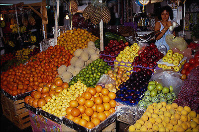Art 714073 The Fruit Market Zihuatenejo Guerrero State Mexico A4 Photo Print