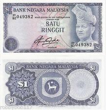 MALAYSIA 1 Ringgit Banknote World Money UNC Currency BILL Note p13b 1981 Rahman