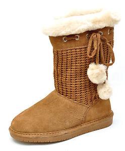 Bearpaw CONSTANCE Brown Sheepskin Wool