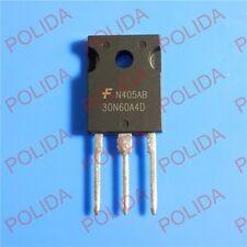 10PCS IGBT FAIRCHILD/INTERSIL/HARRIS HGTG30N60A4D 30N60A4D G30N60A4D 30N60