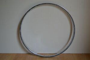 Vintage-1970-039-s-Chromed-Steel-24-034-x-1-3-8-034-Wheel-Rim-36-Holes-540-x-20