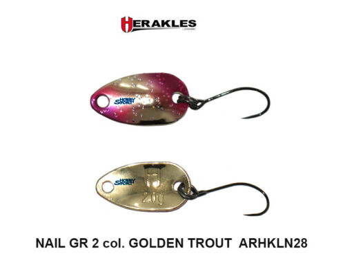 NAIL SPOON ARHKLN28 GOLDEN TROUT  GR 2  ONDULANTE HERAKLES AREA TROUT SPINNING