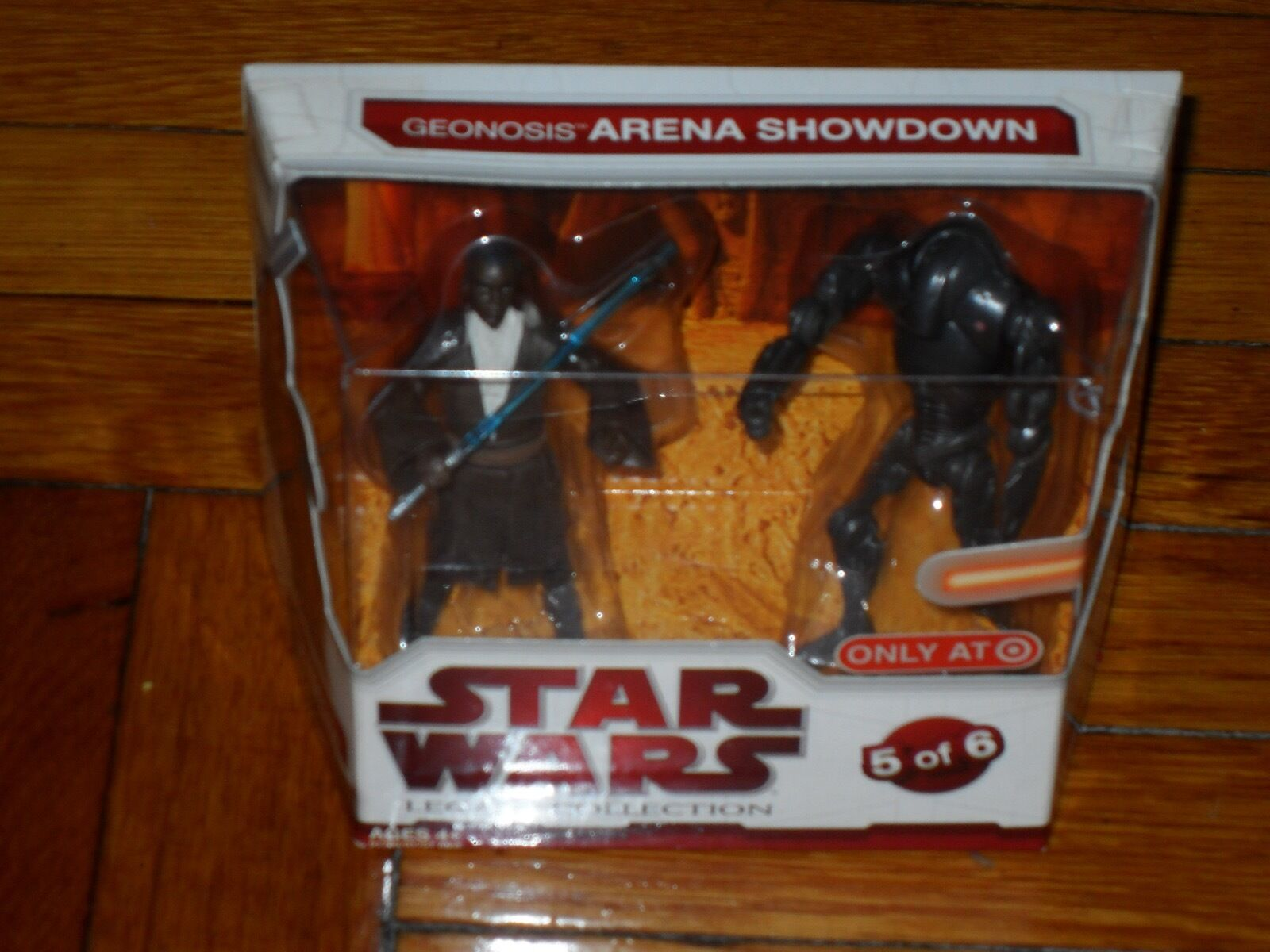 Star Wars The Legacy Collection Geonosis Arena Showdown Masona Masona Masona Vs Battle Droid eda298