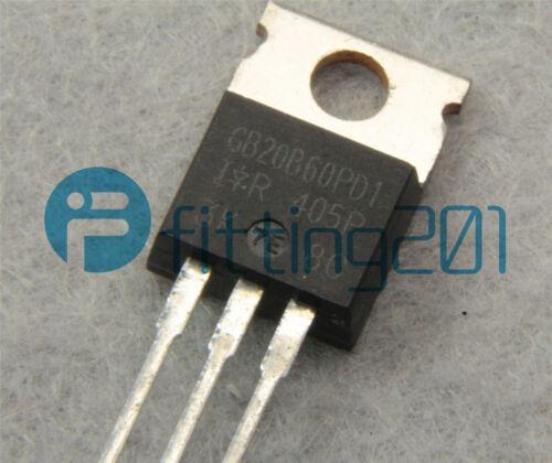 NEW 1PCS IRGB20B60PD1 GB20B60PD1 Manu:IR Encapsulation:TO-220,SMPS IGBT