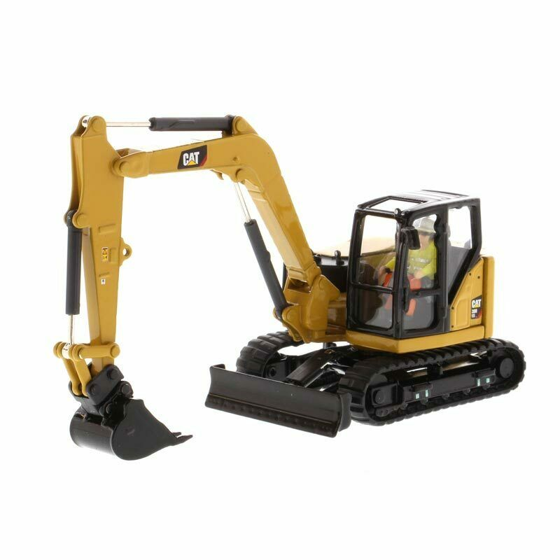 1/50 Caterpillar CAT 308 CR Mini Hydraulic Excavator NIB Diecast Masters 85596