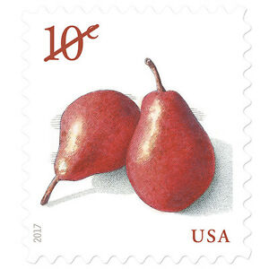 USPS-New-Pears-PSA-stamp-pane-of-20