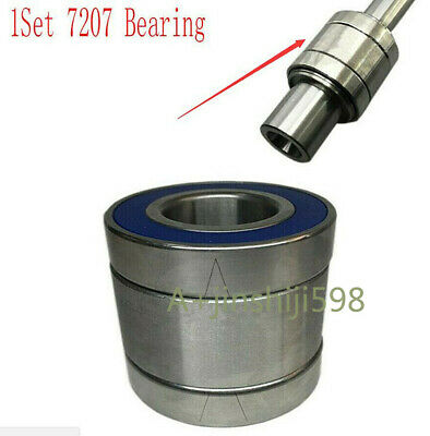 6207 Bearing Milling Tools Bridgeport Milling Machine NT30 Spindle Shaft Set