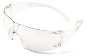 3M Securefit Clear Lens Safety Spectacles Glasses SF201AF