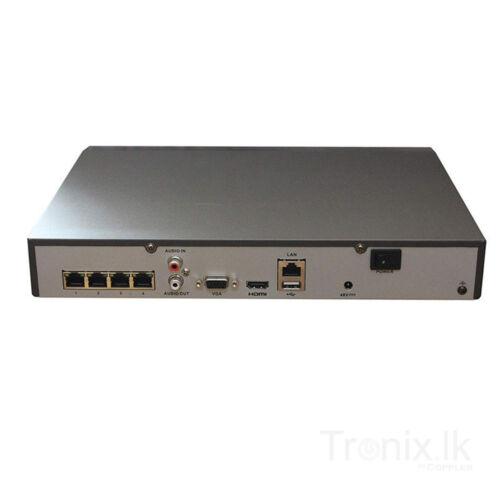 Hikvision 4CH NVR 1TB PURPLE 8MP W//4CH POE H.265 4K HDMI DS-7604NI-K1//4P