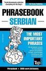 English-Serbian Phrasebook and 3000-Word Topical Vocabulary by Andrey Taranov (Paperback / softback, 2015)