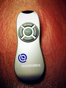 Original Infrarot Fernbedienung - Infrared Remote Control für MAINstage Soundbar