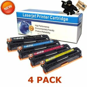 4PK Compatible CF210A Toner For HP 131A LaserJet Pro 200 Color M251nw M276nw MFP