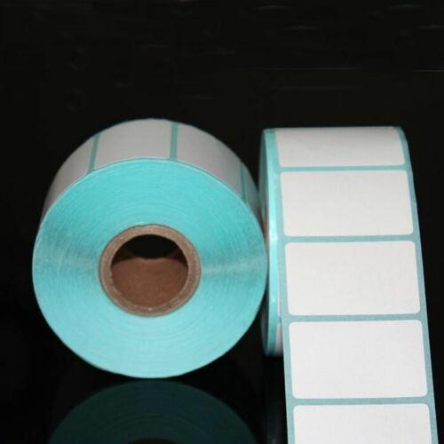 Price Blank Tag Waterproof Adhesive Paper Thermal Sticker Package Label