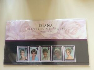 Diana-Princess-Of-Wales-Royal-Mail-Mint-Stamps-1961-1997