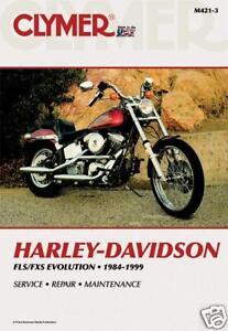 FLS//FXS Fatboy Service//Repair Manual 1984-1999  USA