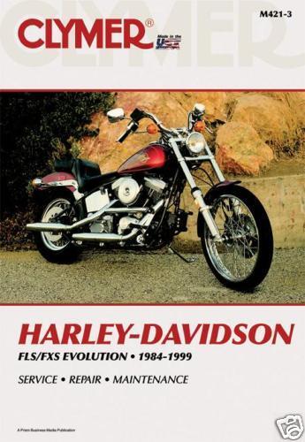 Harley Davidson FLST FXST 1340 Softail FATBOY EVOLUTION Clymer ...