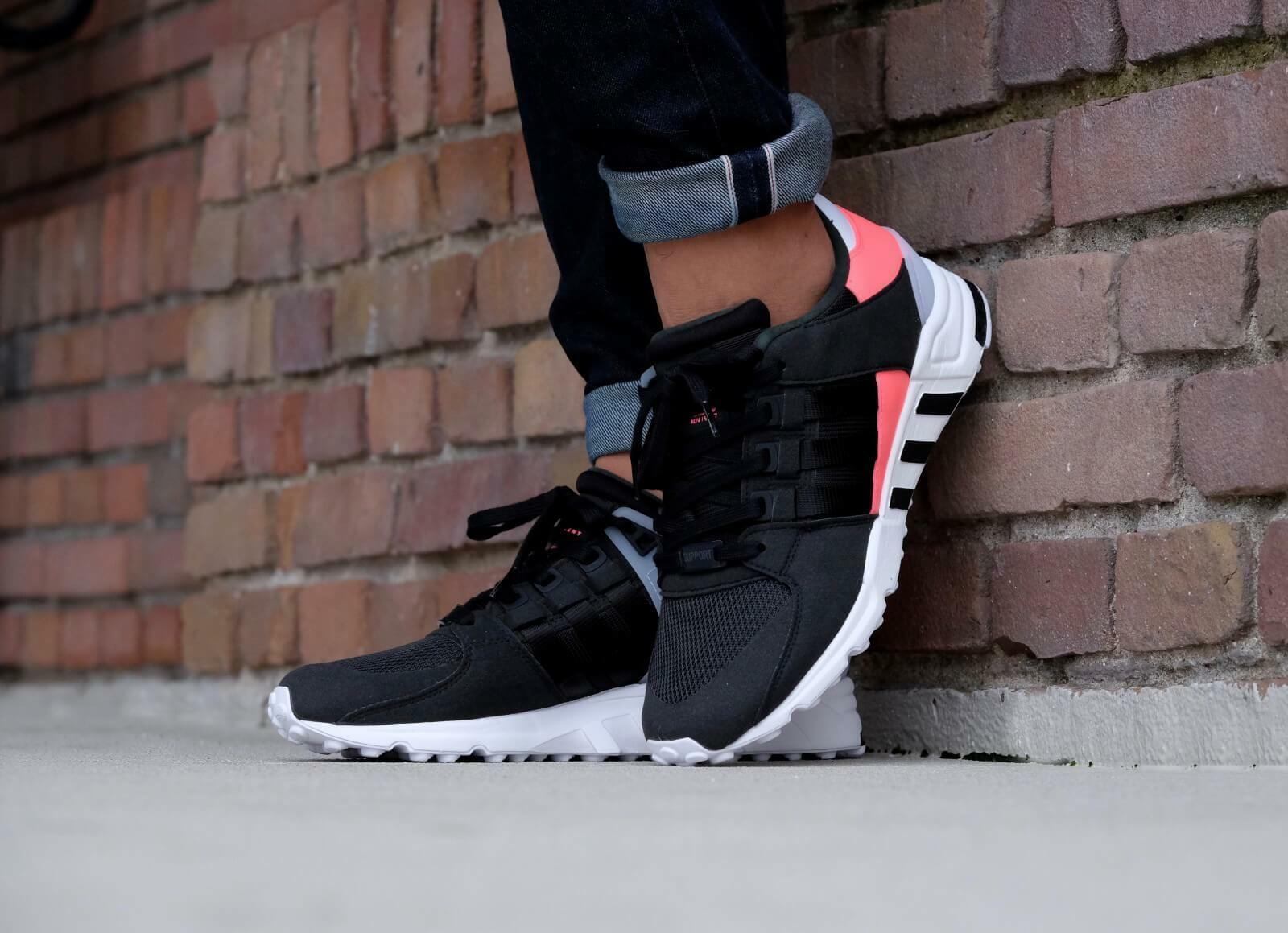 Adidas Originals EQT Support RF Noir Athletic Sneakers BB1319 Trainers US-8.5