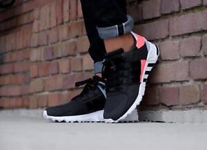 b328c5cc3c6b Image is loading Adidas-Originals-EQT-Support-RF-Black-Athletic-Sneakers-