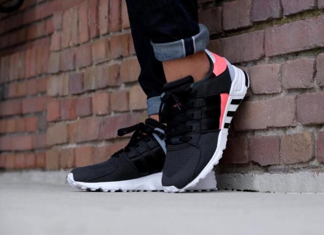 23d36dac31fe Adidas Originals EQT Support RF Black Athletic Sneakers BB1319 Trainers  US-8.5