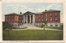 I.O.O.F. Orphans Home in Mason City IA Postcard 1924