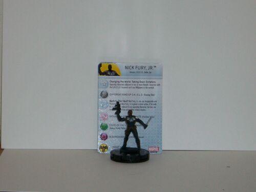 Heroclix Nick Fury Agent of Shield # 033 Nick Fury Jr