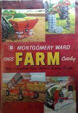Montgomery Ward 1965 Farm Catalog Lawn Garden Tractor Simplicity Chainsaw Engine