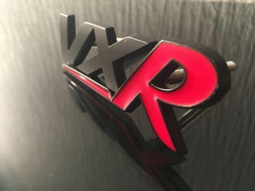 VXR BLACK RED Boot Sticker Badge 3D MATTE Corsa Astra VXR Insignia Vectra Adam