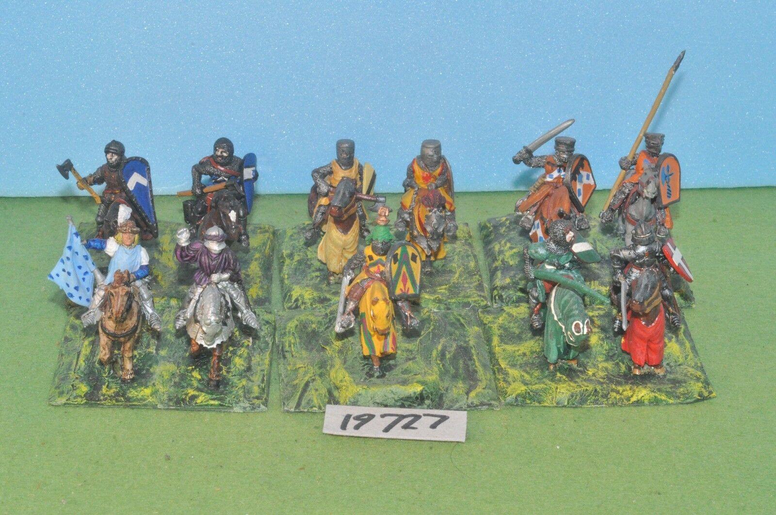 Warhammer fantasy free peoples empire brettonnian knights 11 metal - (19727)