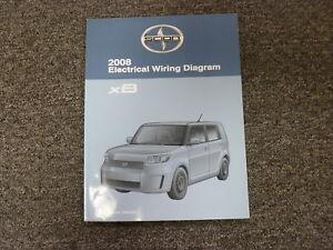 2008 Scion xB Wagon Shop Service Electrical Wiring Diagram ...