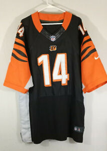 Cincinnati Bengals Andy Dalton Jersey Size 60 4xl Sewn Stitched ...