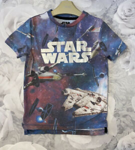 Boys Age 4-5 Years - Star Wars T Shirt From George