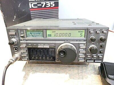 Icom Ic 735 Hf Amateur Radio Transceiver C My Other Ham Radio Gear On Ebay Ebay