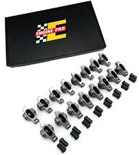 Engine Pro 16 716 Roller Rocker Arms Set W Polylocks For Chevrolet Sbc 350