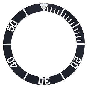 BEZEL-INSERT-FOR-45MM-MENS-INVICTA-0420-PRO-DIVER-AUTOMATIC-WATCH-BLACK