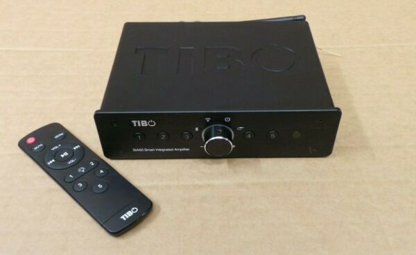 (pa2) Tibo Sia50 Smart Receiver Amplifier With Wifi & Bluetooth - Remote Control Voorzichtige Berekening En Strikte Budgettering