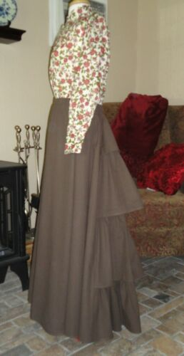Victorian Costumes: Dresses, Saloon Girls, Southern Belle, Witch Skirt Dickens Steampunk SASS $79.95 AT vintagedancer.com