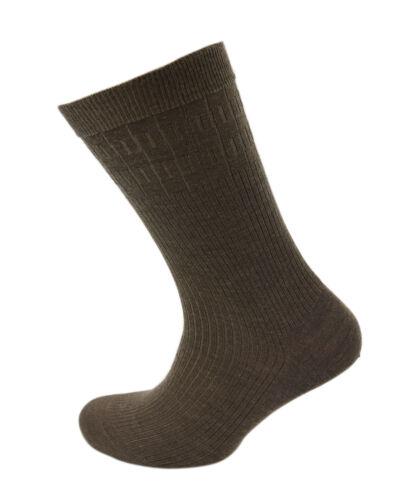 Viyella Da Uomo SOFTOUCH Non elastici calzini di lana con punta collegati a mano