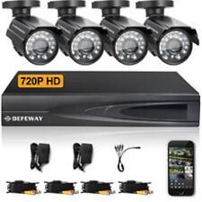 SISTEMA DE GRABACION DE VIDEO CCTV,DVR960, 8 CANALES MAS 4 CAMARAS IMPERMEABLES