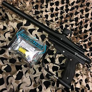 NEW-D3FY-Sports-Conqu3st-Semi-Auto-Mechanical-Paintball-Gun-Black