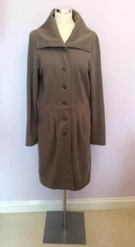 cotone chiaro misto Cappotto in marrone L taglia HwqxEPx