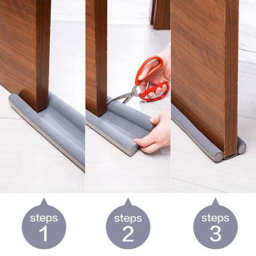 flexible door Bottom sealing strip Guard Wind Dust Threshold Seals Draft Stop~id