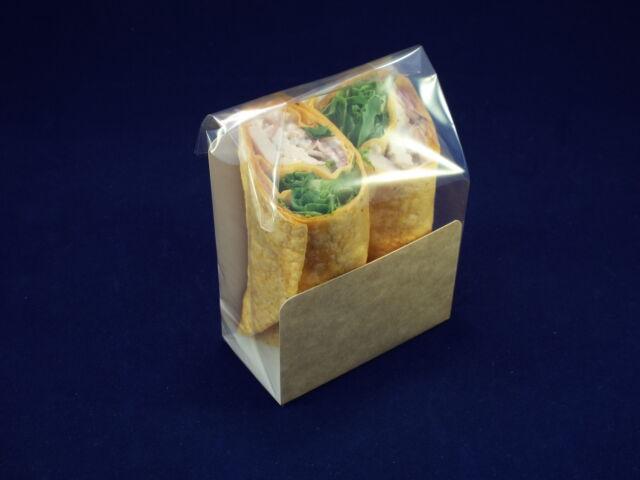 1000 x Tortilla Packaging Kits ( labels, film bags,kraft u cards) (NSRCTK001)