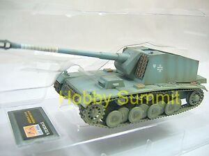 1-72-German-WW2-128mm-SELF-PROPELLED-GUN-Tank-Assembled-Finsihed-Model